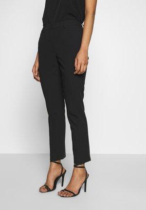 TROUSERS - Spodnie materiałowe - black