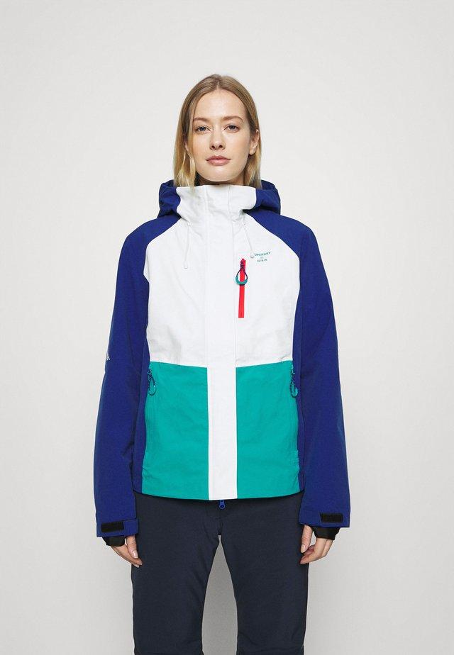 ALPINE SHELL JACKET - Hardshell jacket - lapis