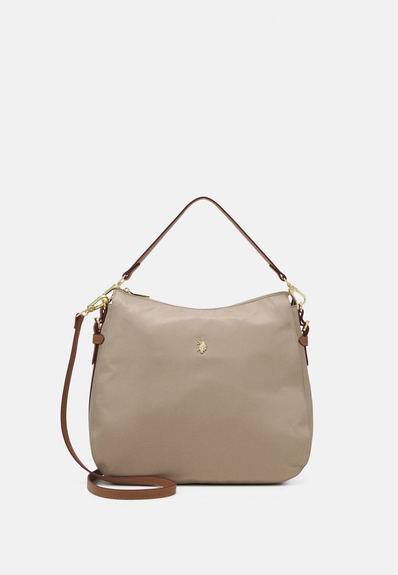 U.S. Polo Assn. - HOUSTON LARGE HOBO - Shopping bag - light taupe