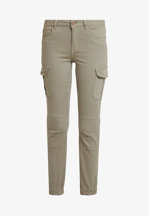 Cargo trousers - oil green