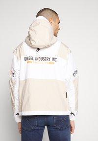 Diesel - J-REED JACKET - Summer jacket - cream - 2