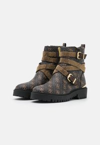 Guess - ORNINA - Cowboy/biker ankle boot - brown - 2