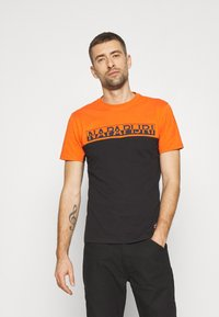 Napapijri - ICE - T-shirt con stampa - black - 0