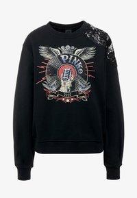 Pinko - TOFU - Sweatshirt - nero limousine - 3