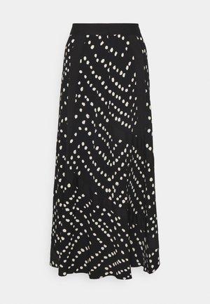 MADISON SKIRT - A-line skirt - herringbone black