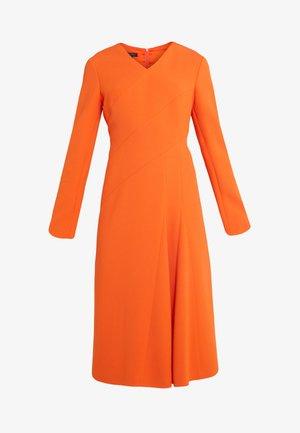 DHOTI - Day dress - tropical orange