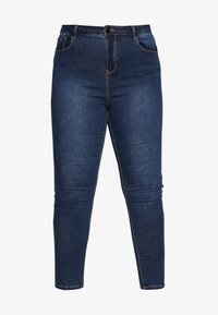 Simply Be - HIGH WAIST - Jeans Skinny Fit - rich indigo - 4