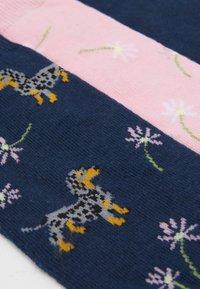 Wild Feet - DACHSHUND SOCKS 3 PACK - Ponožky - multi-coloured - 1