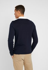 Pier One - MUSCLE FIT - Polo - dark blue - 2