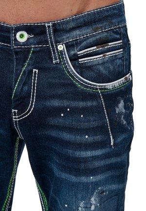Slim fit jeans - dunkel blau