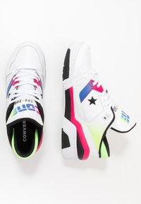 Converse - ERX - Zapatillas altas - white/cerise pink/black - 1