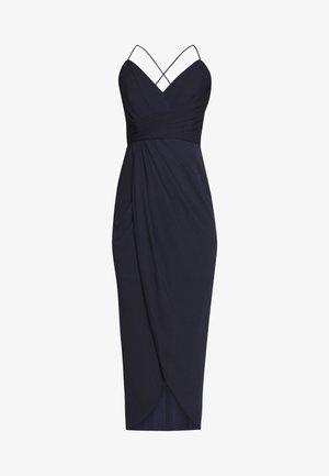 CHARLOTTE DRAPE MAXI DRESS - Maxi šaty - navy