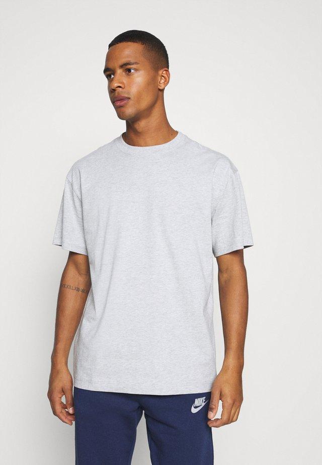OVERSIZED - T-shirt - bas - grey melange