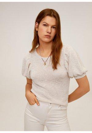 SEED - T-shirt print - ecru