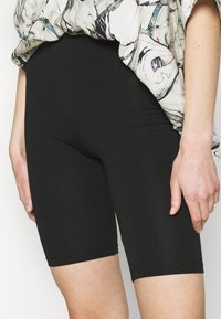 ONLY - ONLLIVE LOVE SOLID CITY 2 PACK - Shorts - orchid bloom/black - 6