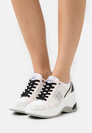 KARLIE REVOLUTION  - Sneakers laag - white/milk