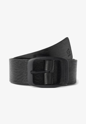 METT - Belt - black/matt black metal