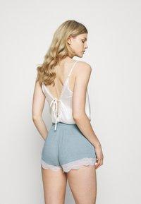 Etam - WARM DAY SHORT - Pantaloni del pigiama - blue-grey - 2