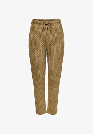 STEPP - Tracksuit bottoms - toasted coconut