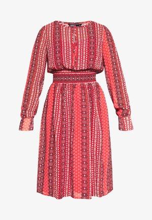 ONLWILLOW  DRESS WVN - Day dress - bittersweet