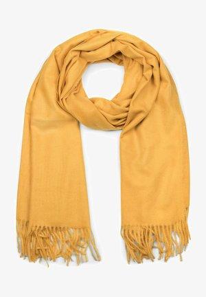UNIQUE WINTER STOLE - Scarf - mustard yellow