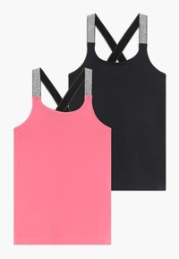 Name it - NKFVALS RACER TANK 2 PACK - Top - dark sapphire - 0