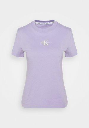 MONOGRAM LOGO TEE - Basic T-shirt - palma lilac