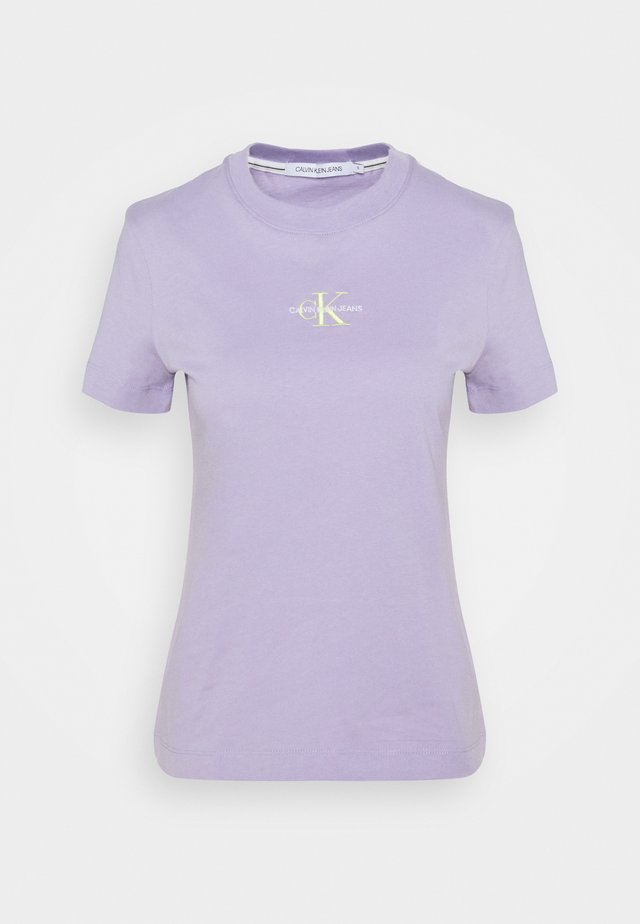 MONOGRAM LOGO TEE - T-shirt basic - palma lilac