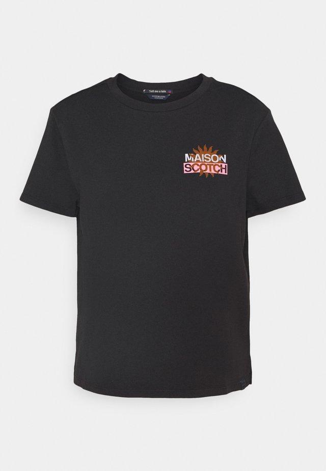 SIGNATURE LOGO - T-shirt print - black