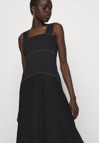 Proenza Schouler White Label - RUMPLED DRESS - Robe d'été - black - 6