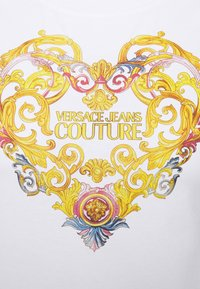 Versace Jeans Couture - TEE - Triko spotiskem - optical white - 6