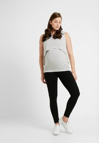GAP Maternity - ESSENTIAL - Leggings - Trousers - true black