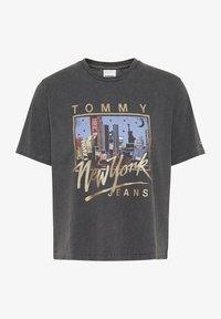 Tommy Jeans - VINTAGE  - Print T-shirt - black - 0