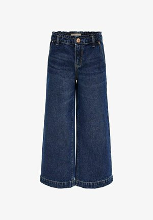 KONCOMET  - Bootcut jeans - dark blue denim