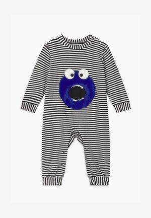 LITTLE MONSTER UNISEX BABY - Pyjamas - black/white
