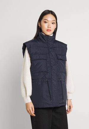 MOLANA - Waistcoat - navy blazer