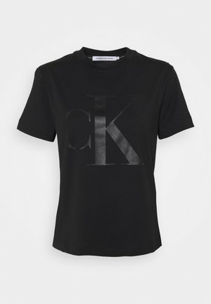 STRAIGHT UPSCALE  - T-shirt med print - black