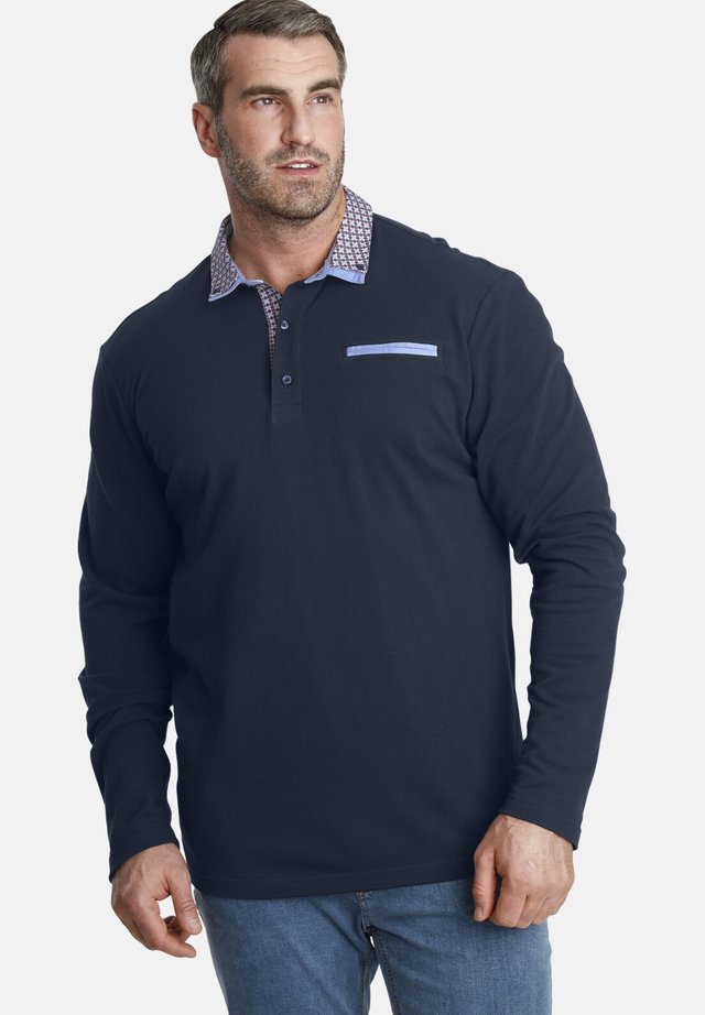 EARL CHAD - Polo shirt - dark blue