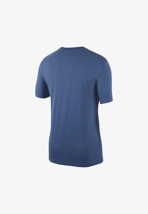 Print T-shirt - mystic navy