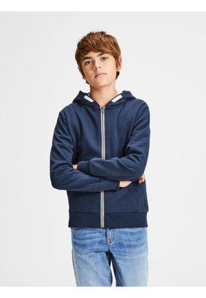 REGULAR FIT - Zip-up hoodie - navy blazer