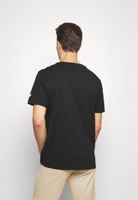Guess - STICKY - Print T-shirt - jet black - 2