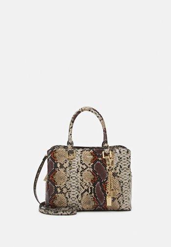 LEGOIRI - Handbag - brown/natural
