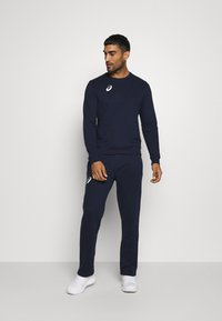 ASICS - MAN SUIT - Tracksuit - strong navy - 1