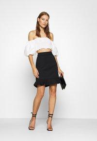 DAY Birger et Mikkelsen - CIKADE - A-line skirt - black - 1