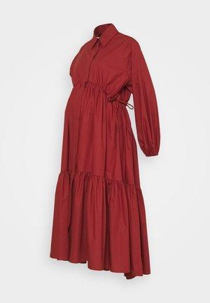 PRIMULA - Maxi dress - rusty red