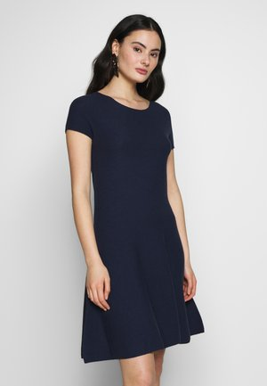 DRESS - Strikkjoler - blue