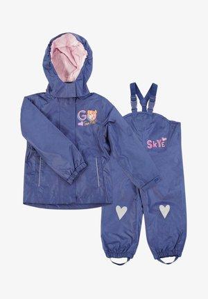 MATSCH UND BUDDELANZUG SET-Waterproof jacket - Rain trousers - dunkelblau
