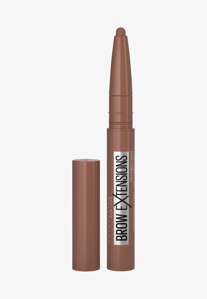 Maybelline New York - BROW EXTENSIONS - Augenbrauenstift - 4 soft brown
