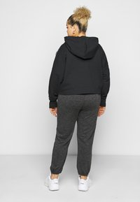 adidas Originals - CROPPED HOOD - Hoodie - black - 2