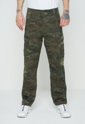 XX TAPER CARGO II - Cargo trousers - greens